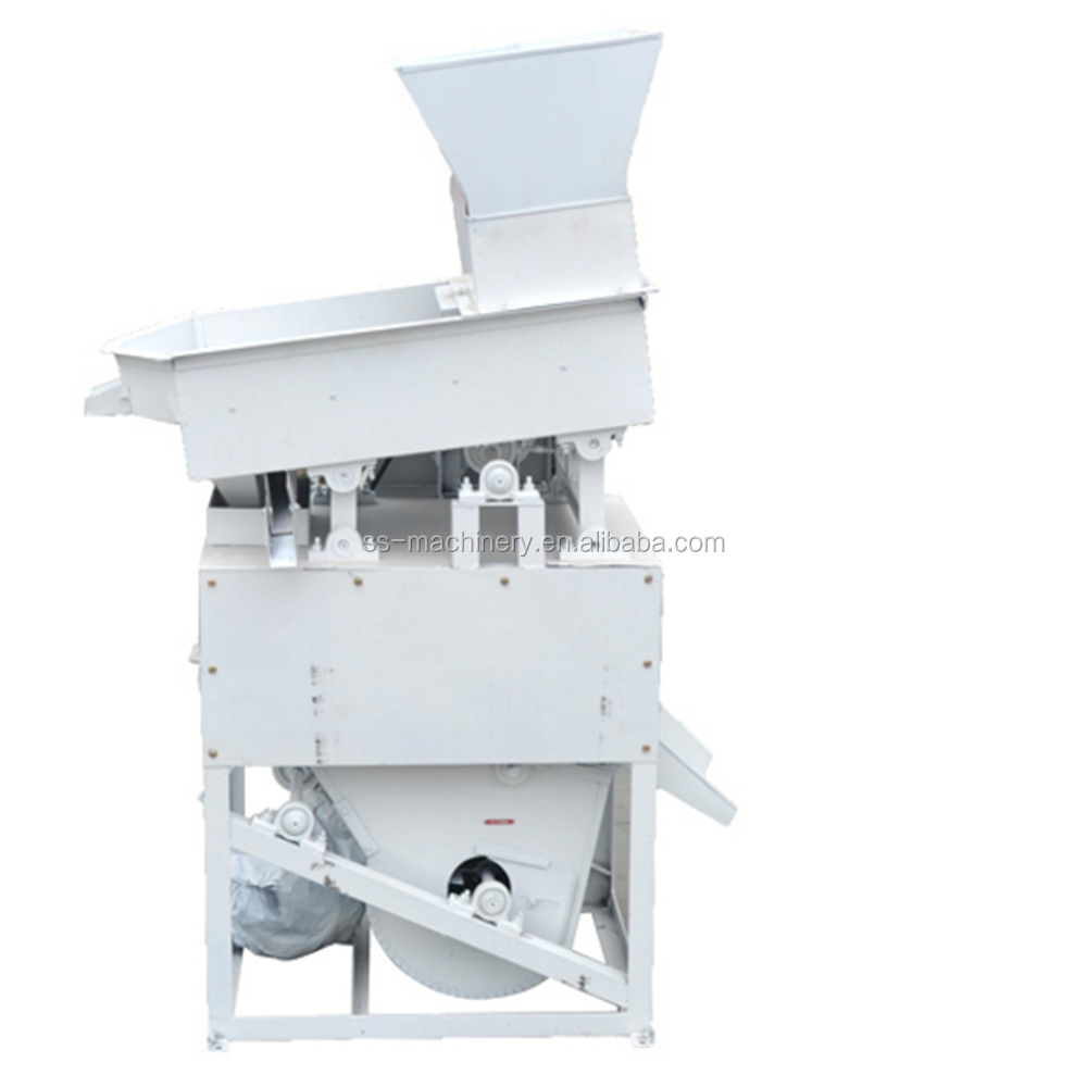 Whole set rice processing machine Rice milling machine maize destoner rice dehuller machine