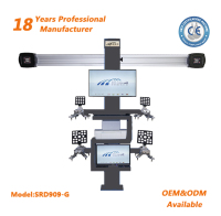 automatic lift camera beam 4 wheel aligner with CE for sale and good price 3d wheel alignment machine