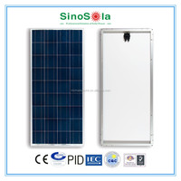 pv solar panel 150w with TUV/IEC61215/IEC61730/CEC/CE/PID