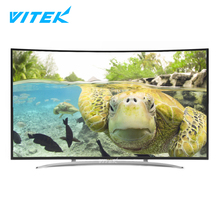 "55 65 inch OLED LCD Vitek Smart Television tv 4k curved, 32"" 43"" 49"" 4k UHD LED tv computer gaming monitor curved"