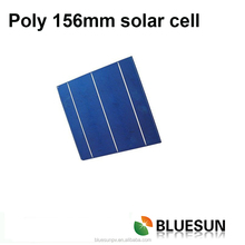 Bluesun factory supply High quality A grade cell 4.33w poly 156mm sun solar cell