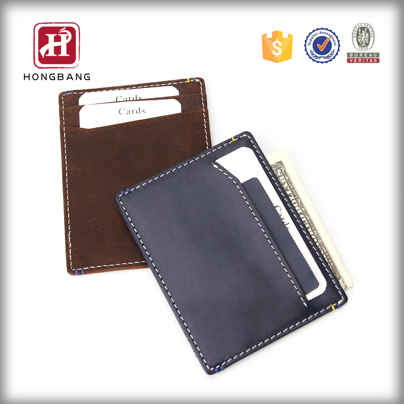 Fashion leather card holder wallet hottest card case
