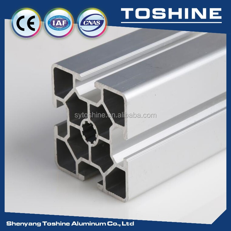 60 series size 60*60 industrial aluminum extrusion profile with good price