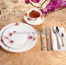 Innovation style Fine China 8 -Piece Place Setting garden series tableware floral porcelain dinner set