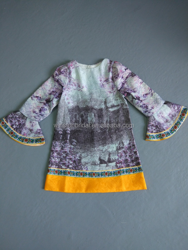 High end china factory direct wholesale latest children frocks designs