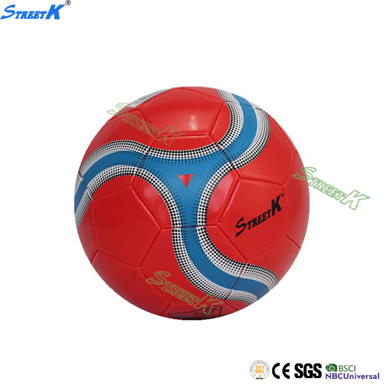 Streetk Brand wholesale PU football soccer ball