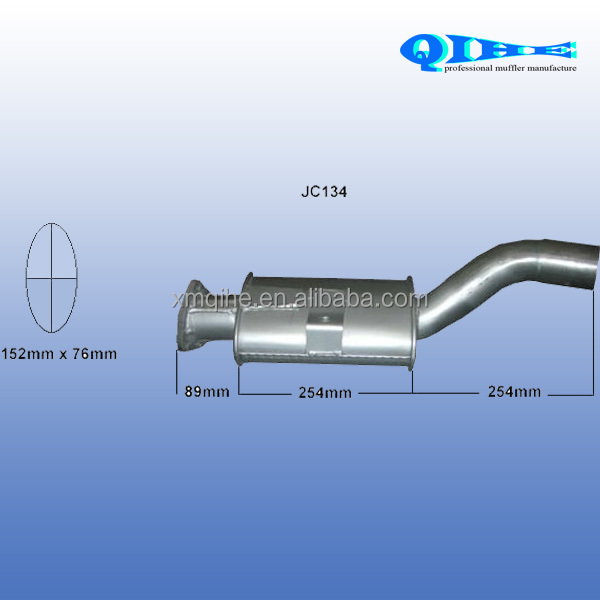 Hot sale scooter muffler OEM quality guarantee