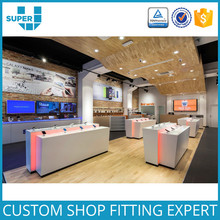 Guangzhou Factory Retail Shop High End Lighting Mobile Phone Store Furniture