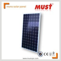 MUST solar system with 250W Monocrystalline price per watt solar panels For Home Use solar system