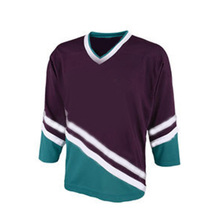 Custom Made Sewing Pattern Team Ice Hockey Jersey
