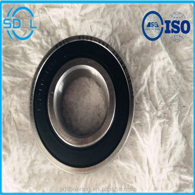 Factory best selling steel pipe deep groove ball bearing 62052rs