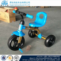 2016 shanghai fair colorful baby tricycle,kids trike,new design kids bicycle with two seat/simple design baby tricycle