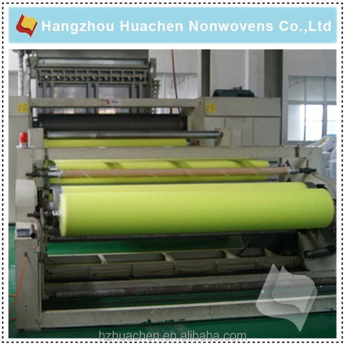 Production Process Flow Chart of PP Non-woven Fabric