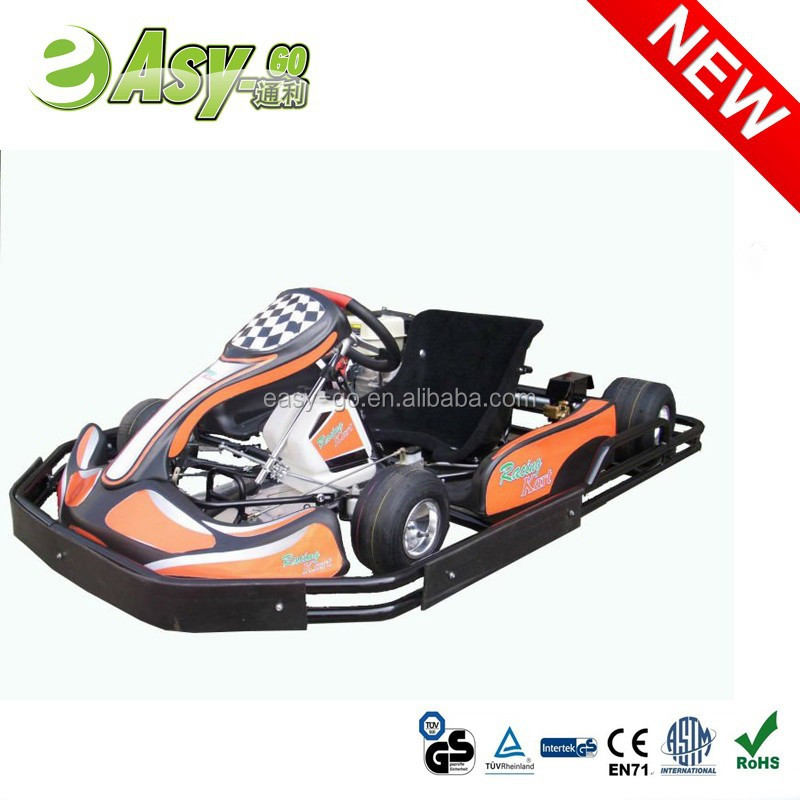 Hot selling 200cc/270cc 6.5HP/9HP go kart chassis with plastic safety bumper pass CE certificate
