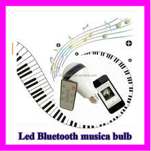 Music !e27 5w led bulbs india price with Music speaker