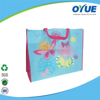 Hot sale non woven promotional reusable folding shopping bags