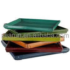 Colorful Distressed High Quality Solid Wooden Serving Tray in Vairety