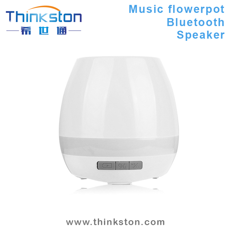 Innovation Touching Flower Singing Plant Interaction LED Bluetooth Speaker