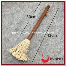 Ideal for spreading thin sauces and marinades bbq grill brush cotton round mops