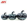 Glass craft halloween pumpkin decorations led light pumpkin