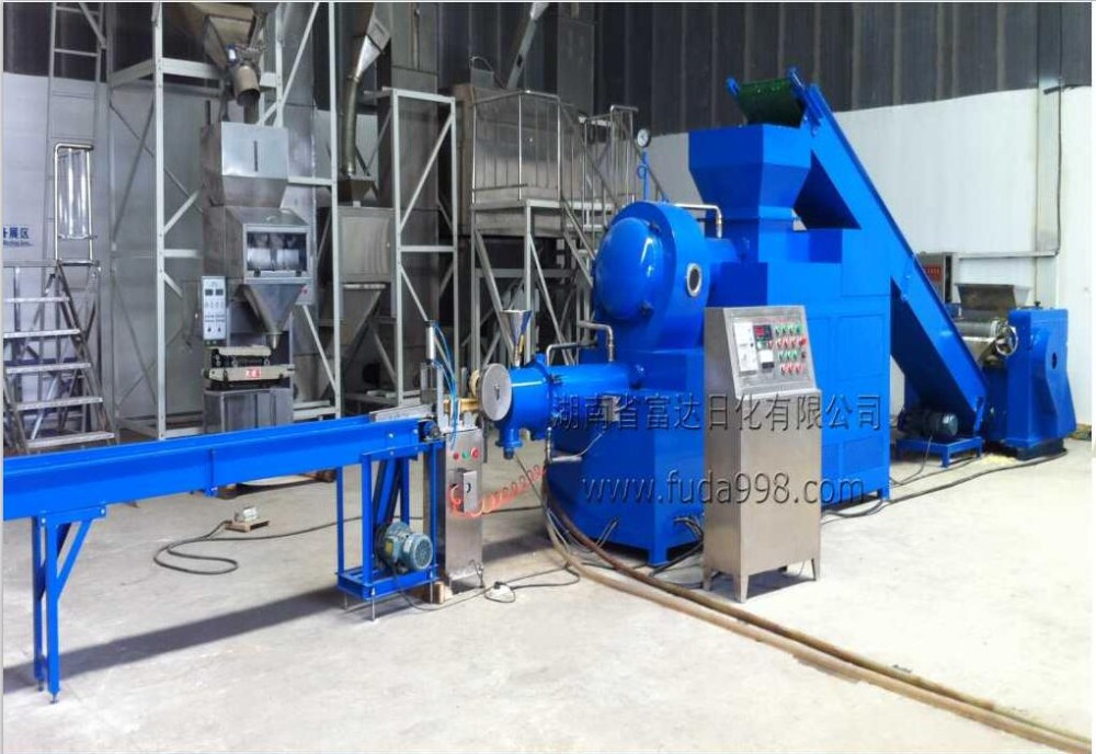 Laundry soap making production line