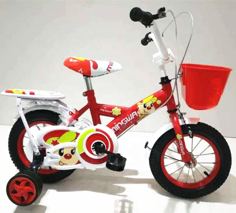 on stock kids cheaper bike cute girls bicycle with wholesale price