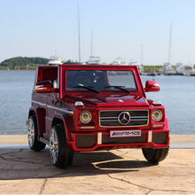 Hot selling licensed Mercedes G wagon toys electric baby ride on cars baby toys