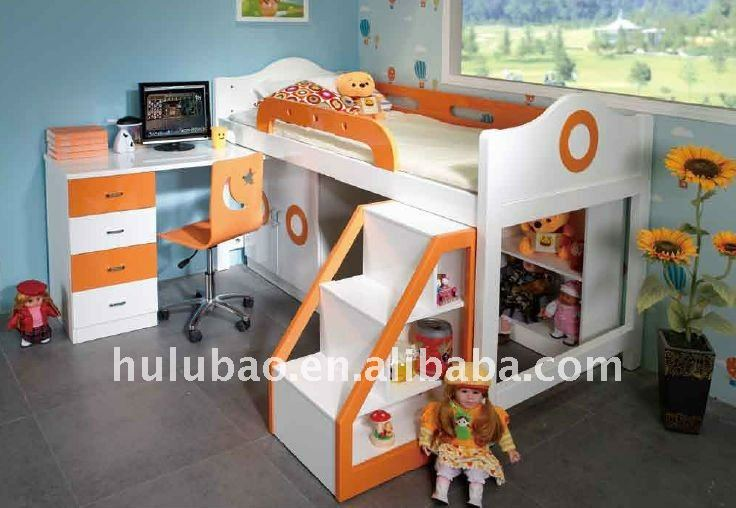 Factory Price Kids Bunk BedKids Bus Bunk BedChildren Car