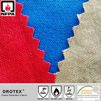 Industrial EN/NFPA Inherently Aramid fabric in 4.5oz, 5oz, 6oz