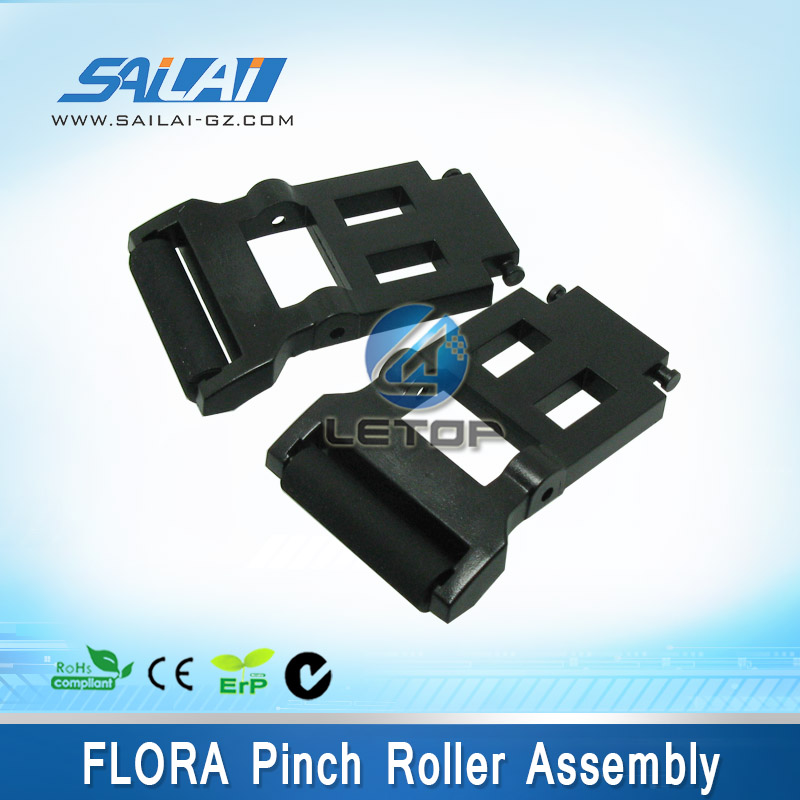 Inkjet printer spare parts Flora Pinch roller assembly for LJ320K LJ3208K LJ320P LJ3208P rubber roller component