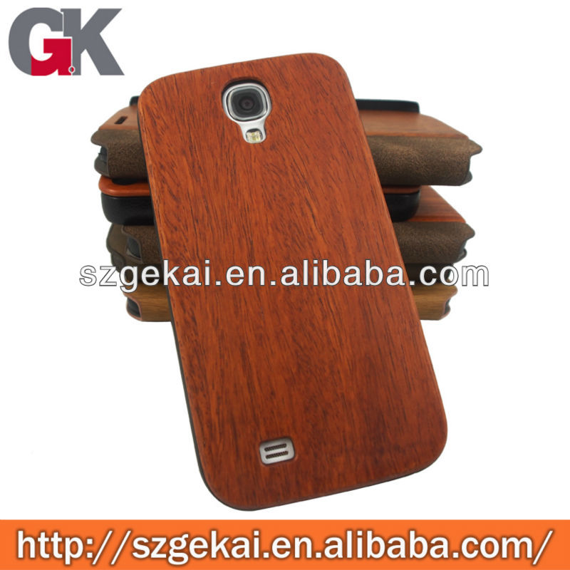 antique wooden wine color case for galaxy s4