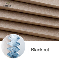 FANGJU Cheap High Quality Blackout Day & Night Pleated Honeycomb/Cellular Shades Blinds Windows