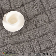 wear-resistant UV coating Carpet PVC vinyl floor rolls /plank