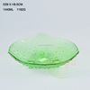 wholesale cheap colorful glass plate, custom dinner plate
