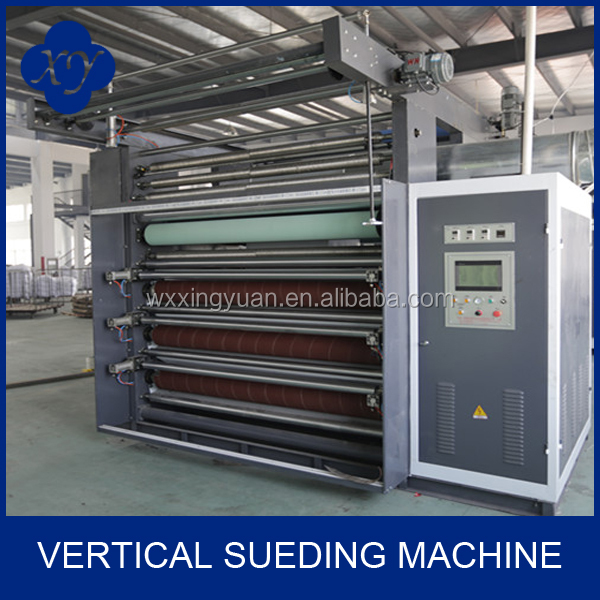 XINGYUAN MM6 Vertical Sueding Machine for swimmng suit fabric In Textile Finishing Machine