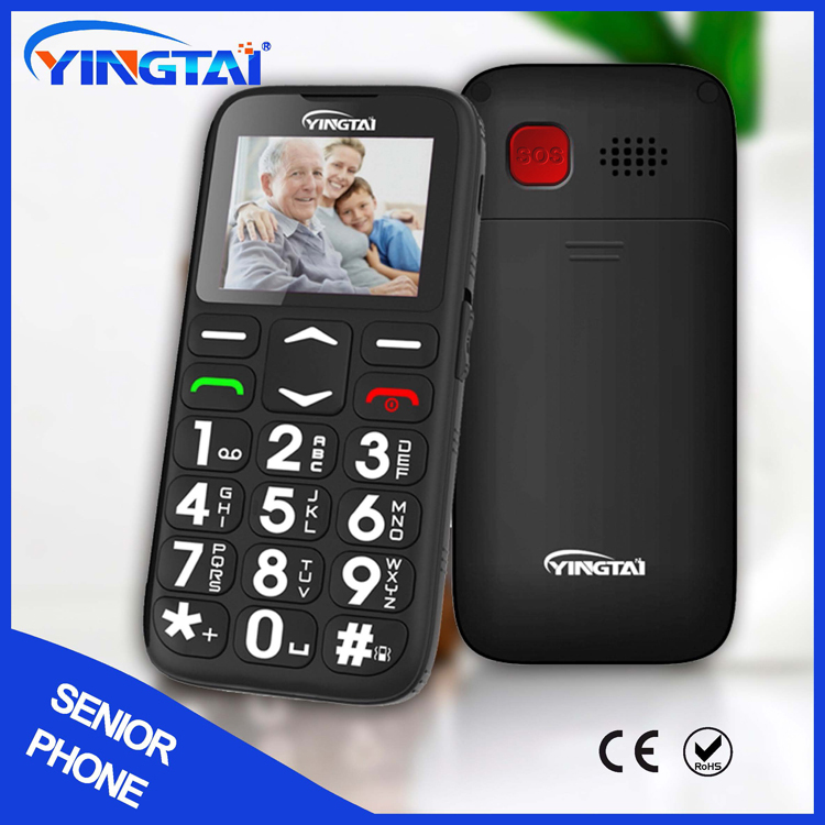 Best Single SIM No Camera Bar Style Old Man Mobile Phone