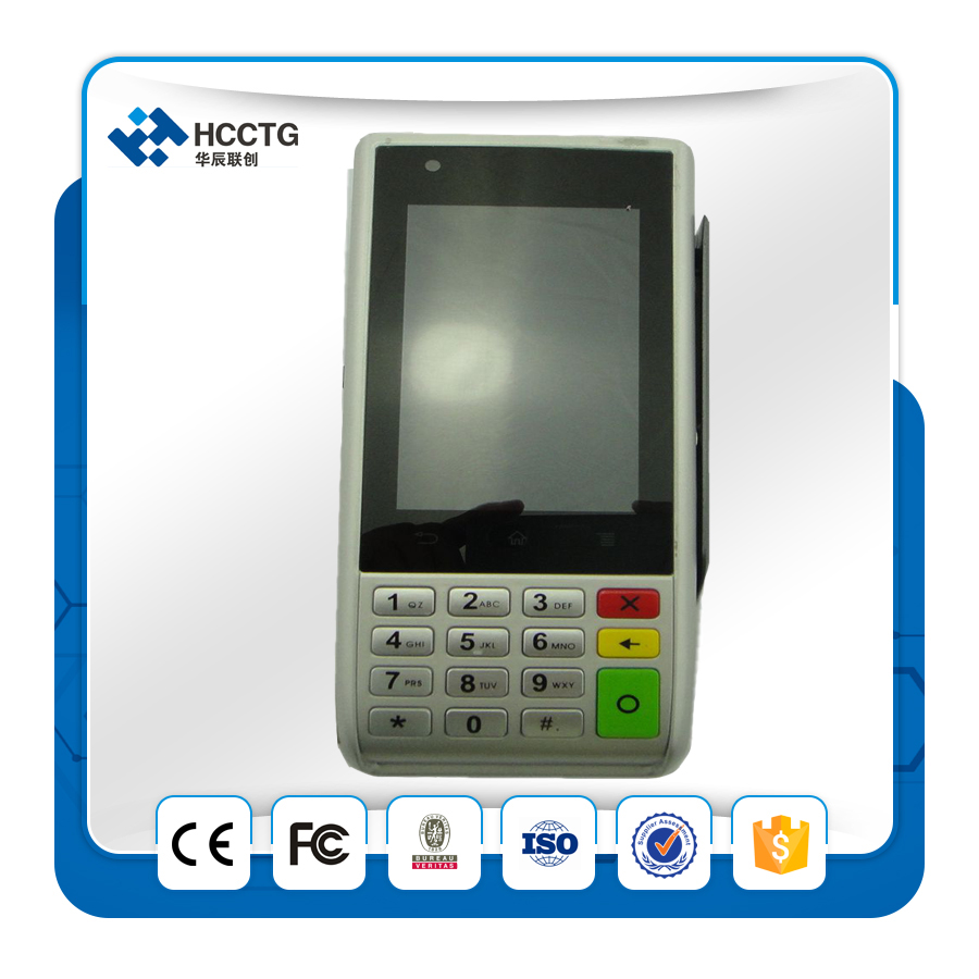 USB Mini Smartphone Mobile Wireless Handheld Rfid NFC Contactless Android Fingerprinting POS Payment Terminal EMV S1000