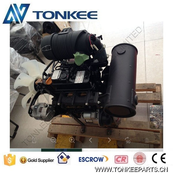 3TNV82A Engine assy& Complete engine& Engine assembly, 3TNV82A Complete engine assy