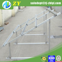 Hot dipped galvanized metal mounting bracket and iron bracket for solar panel at best wholesale price
