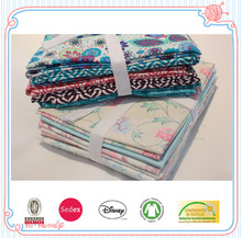 pre cut cotton printed quilting patchwork fabric fat quarters