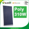 high efficiency cheap 310w solar panel price for bangladesh with tuv ce certificate