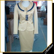 Latest design Office ladies European formal suits for women