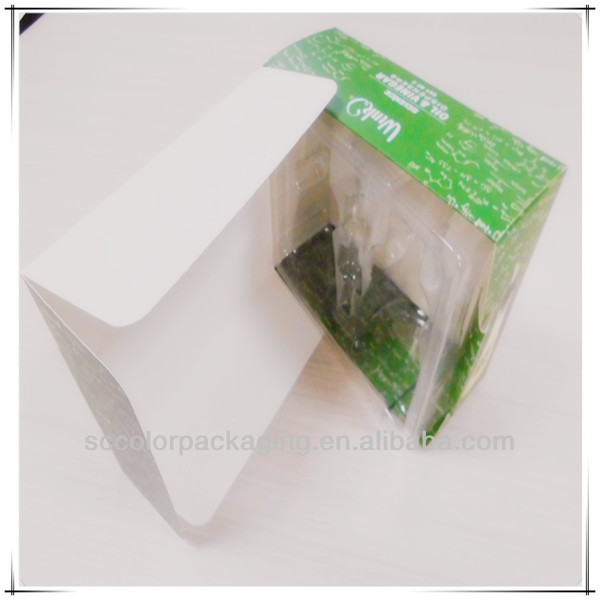 Ecofriendly Corrugated Carton Box With PVC Window
