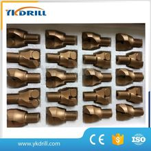 Coal layer PDC coal pick with 2 blades for drilling anchor-network support hole