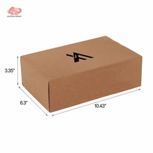 Factory price cardboard corrugated brown kraft paper soap box packaging