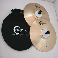 professional polishing 400 Marching Cymbal Hand made cymbal From Tongxiang