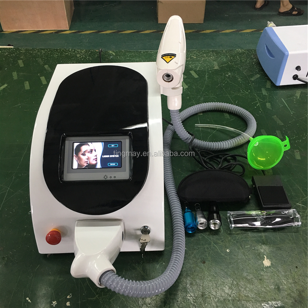 nd yag laser tattoo removal machine / q switch nd yag laser