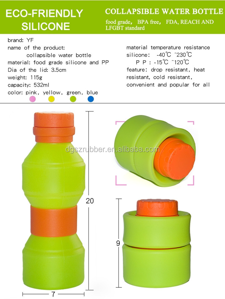BPA Free Travel Fitness Joyshaker Water Bottle