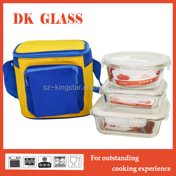 Rectangle Vacuum Airtight Glass Fresh Container/Food Fresh Container Storage with Pump