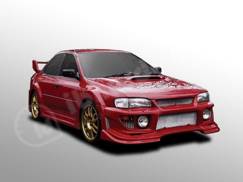 IbherDesign FRP Body Kit Front Bumper Skirts Fit For Impreza 95/97 Storm GC8